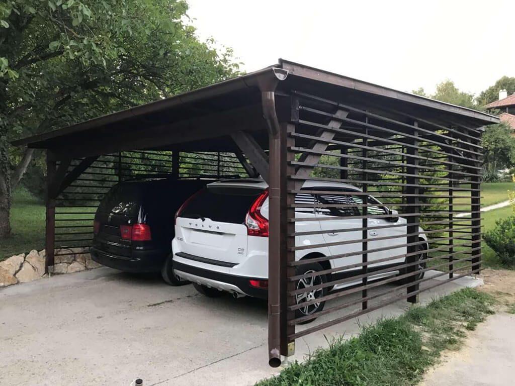 fa kocsibeálló